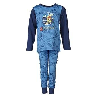 LEGO Wear Pyjama  Manches longues Garon - Bleu - Blau (549 BLUE) - FR : 10 ans (Taille fabricant : 140)