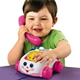 Finest Fisher-Price Pink Chatter Phone - Cleva Edition ChildSAFE Door Stopz Bundle