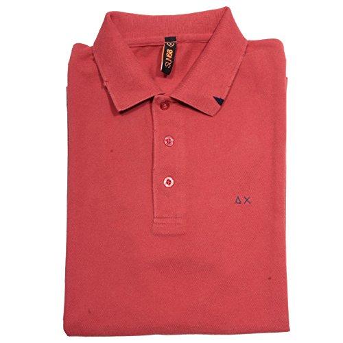 60020 polo SUN 68 maglia uomo t-shirt men red manica corta [S]