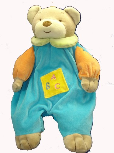 Angel-Baby-Super-Soft-Blue-Teddy-Bear-Pajama-Bag-Diaper-Holder-and-Lovie-Banky