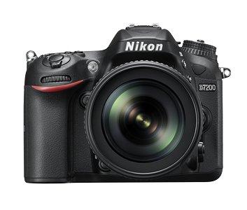 Nikon-D7200-242-MP-Digital-SLR-Camera-Black-with-AF-S-18-105mm-VR-Kit-Lens-and-8GB-Card-Camera-Bag