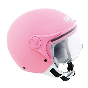 CGM Casque Jet Kid 205S Angeldevil Rose