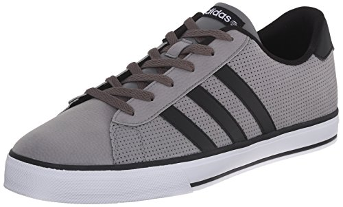 Adidas NEO Men's SE Daily Vulc Lifestyle Skateboarding Shoe,Mystery/Black/White,11 M US