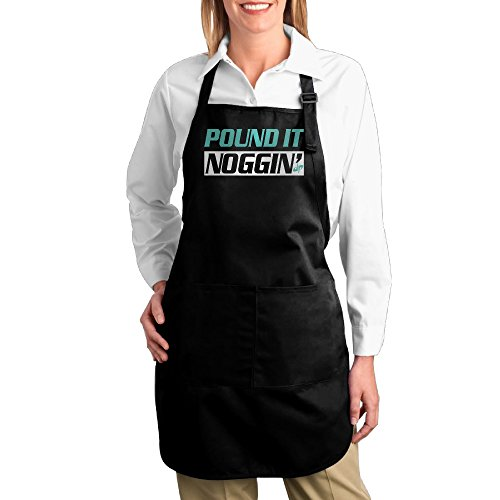 men-women-dude-perfect-pound-it-nogginmint-green-kitchen-cooking-grilling-apron-adjustable-with-pock