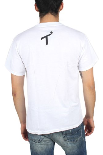 T.I.T.S. (Two In The Shirt) - Mens Mac 10 T-Shirt in White, Size: Small, Color: White