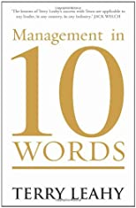 Management in 10 Words