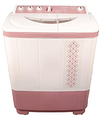 Kelvinator KS7217DP-FKA Semi-automatic Top-loading Washing Machine (7.2 Kg, Dark Pink)