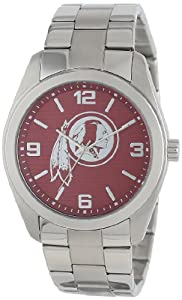 Game Time Unisex NFL-ELI-WAS Elite Washington Redskins 3-Hand Analog Watch by Game Time