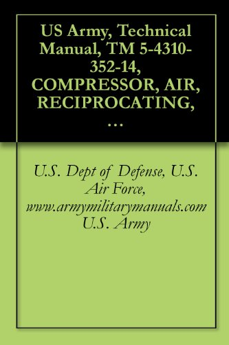 Us Army, Technical Manual, Tm 5-4310-352-14, Compressor, Air, Reciprocating, Electric Motor Driven, Receiver 2 Hp, 5 Cfm, 175 Psi, Ingersoll-Rand Model ... Military Manauals, Special Forces