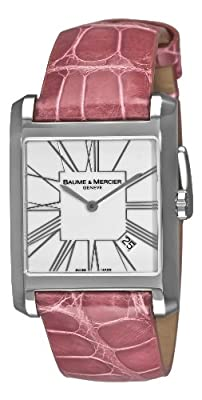 Baume & Mercier Women's 8742 Hampton Square Pink Watch