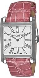 Baume & Mercier Women's 8742 Hampton Square Pink Watch