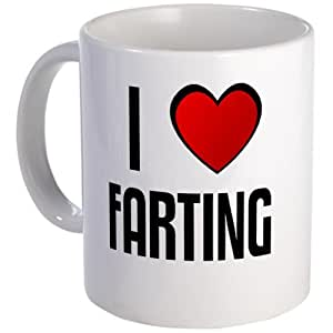 Amazon.com: I LOVE FARTING Mug Mug by CafePress: Home & Kitchen
