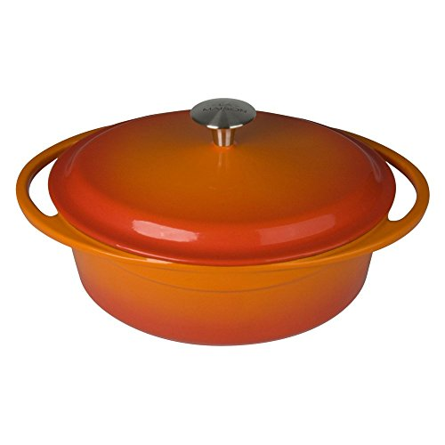 awardpedia artland la maison cast iron oval casserole