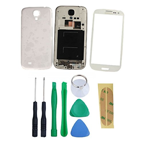 Toopoot(Tm) Replacement Housing Case + Screen Glass Tools For Samsung Galaxy S4 I9500