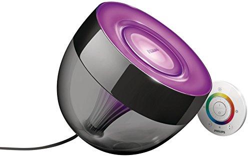 Philips LivingColors IRIS Lampada da Tavolo LED, colore nero
