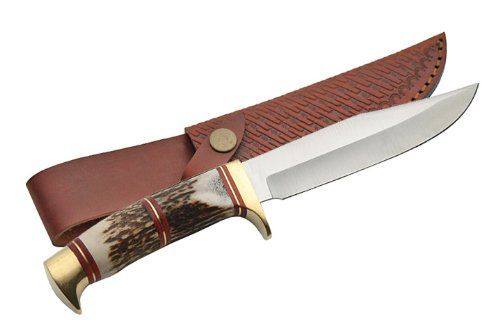 Szco Supplies Steel Wolf Hunting Knife