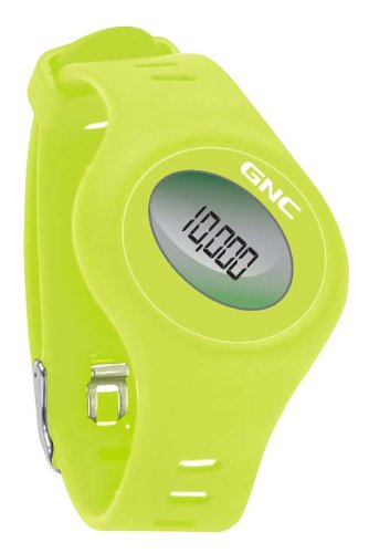 GNC Bluetooth Waist Clip and Watch Band Pedometer, Green
