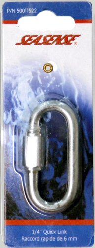 Unified Marine 50011522 Quick Link( Zinc Plated, 0.25- Inch)