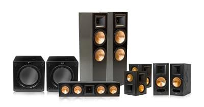 Klipsch RF-7 II Reference Series 7.2 Home Theater Speaker Package (Black) by Klipsch