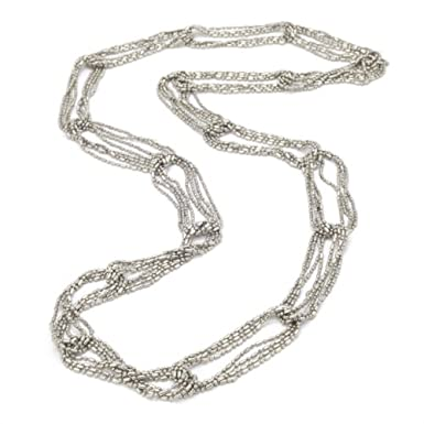 Silver Chain Link Necklace
