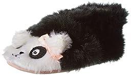 Robeez Panda Crib Shoe (Infant/Toddler),Black,0-6 Months M US Infant
