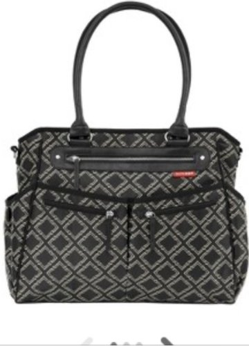Skip Hop City Diaper Bag Tote with Changing Pad and Stroller Strap - 1