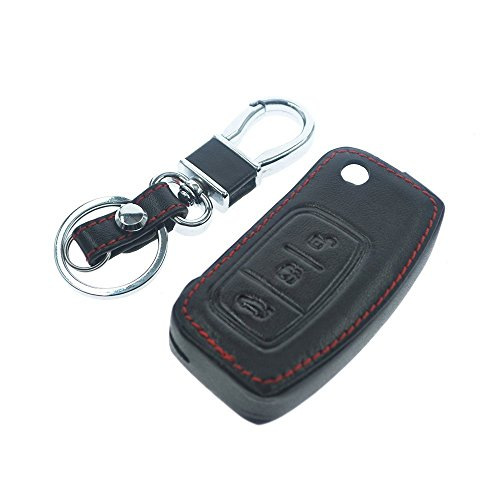 automan-leather-car-styling-auto-remote-key-cover-case-holder-for-ford-focus-2-fiesta-black
