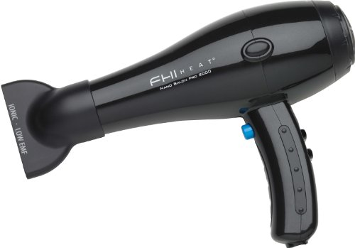 FHI Heat Nano Salon Pro 2000 Professional Salon Hair Dryer With Nano-Fuzeion Technology