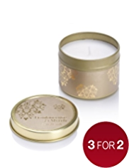 Frankincense & Myrrh Tin Candle