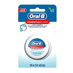 Oral-B Essential Floss Mint Waxed 54 Yd (Pack of 24)