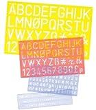 Helix Standard Font, 4 Piece Set, Blue Tint (08401)