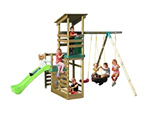 Little Tikes Buckingham Climb Slide n Sand Swing Set