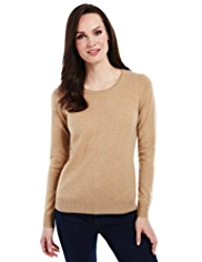 M&S Collection Pure Cashmere Crew Neck Jumper