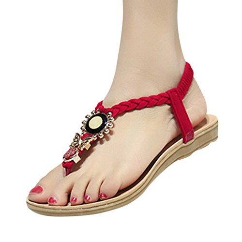 Hee Grand Women Fashion All Match Casual Beach Thong Sandals