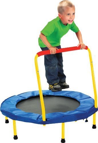 Find Cheap Fold & Go Trampoline