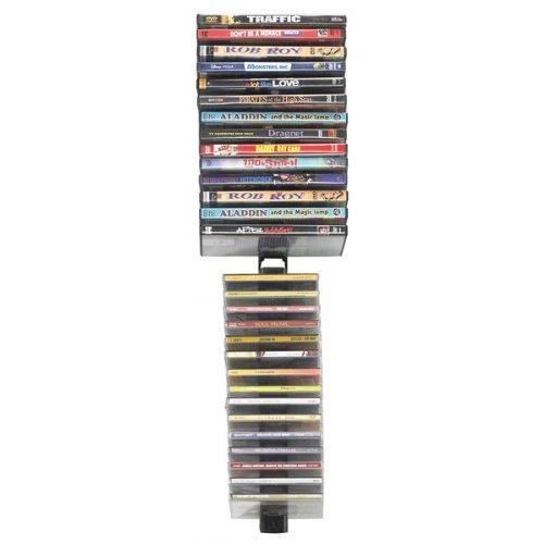 Image of NEW Media Stix Wall Mount Multimedia Storage Rack (Stands Mounts & Furniture) (B0071G36X4)