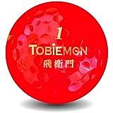 公認球 2ピース構造ゴルフボール ワールドモデル Japanese Spirits シリーズ レッド 12球(1ダース) FGDRW-RD