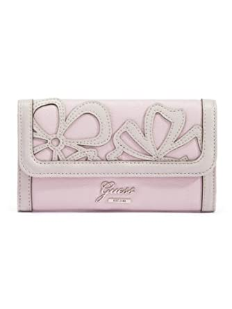 Guess Floren SLG Slim Clutch Wallet, Rose Multi