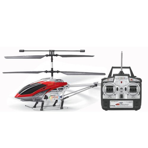 Big Bargain FQ777-557-1 3.5CH Metal RC Remote Control Helicopter With Gyro 50cm