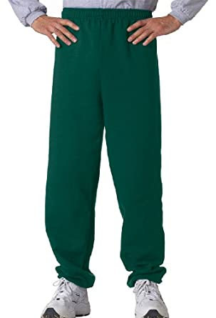 Gildan 18200 Unisex Heavy Blend Sweatpant,Small,Forest