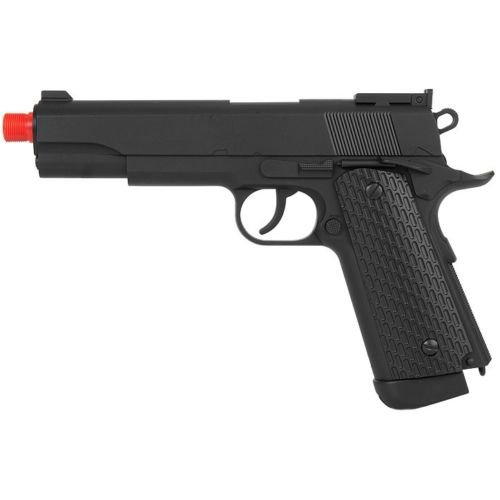 500 FPS WELL FULL SIZE AIRSOFT M 1911 GAS CO2 HAND GUN PISTOL w/ 6mm BB BBs (Sniper Airsoft Gun 1000 Fps Cheap compare prices)