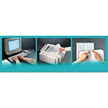 Avery Index Maker White Dividers, 8-Tab, Laser/Ink Jet, 3-Hole, Letter Size (8.5 x 11), Clear, 8 per Set (11417 )