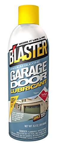 What Should I Be Using To Lubricate My Garage Door