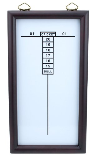 Best Price! Triple Out Darts White Dry Erase Cricketeer Scoreboard