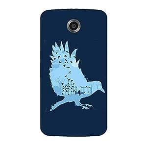 Back cover for Nexus 6 Illustration Bird