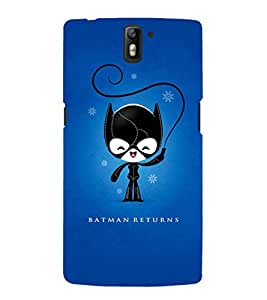 EPICCASE bat guy returns Mobile Back Case Cover For OnePlus One (Designer Case)