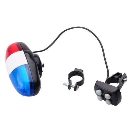 Bike Bicycle 4-Tone Police Light And Electric Horn Siren front-428545