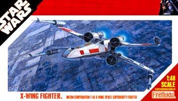 Fine Molds 1/48 Stars Wars X-Wing Fighter