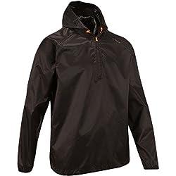 Quechua Rain Cut Jacket, Medium/Large (Black)