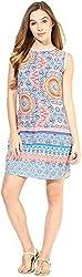 AVIRICH Women's Dress (Multi-Coloured, XL)